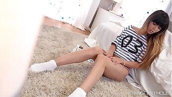 Teen Slut Mona Kim Ass Fucked Balls Deep In Bedroom