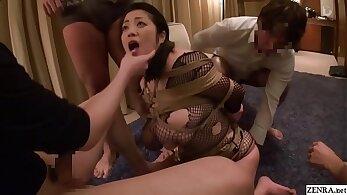 Extreme JAV bound free use oral jobs Minako Komukai Subtitled